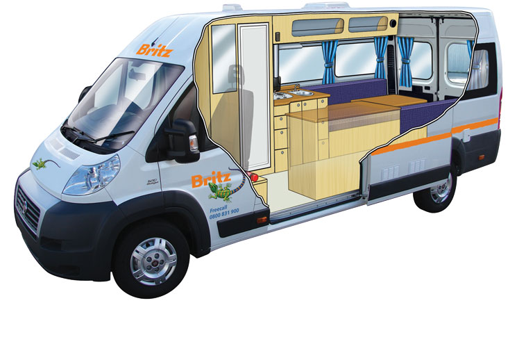Britz Campervans Just New Zealand Motorhomes